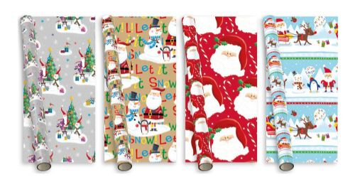 5m Christmas Gift Wrap Christmas Tree